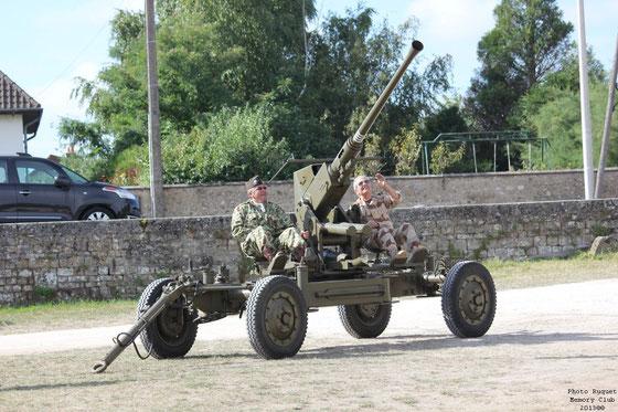 "Canon 40 mm Bofors     ""avions en vue !"""