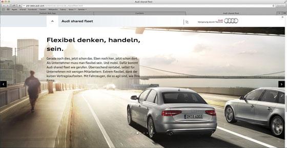 Audi shared fleet - bitte Teilen!