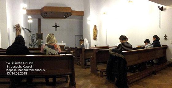 24 Stunden für Gott - Gebetstag des Papstes 2015