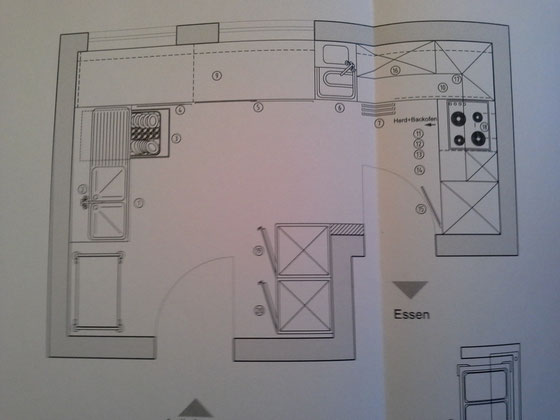 Küchenplanung fürs Gemeindehaus - Sozialküche am Rothenberg