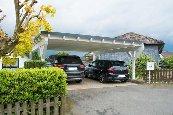 Flachdach Premium Carport