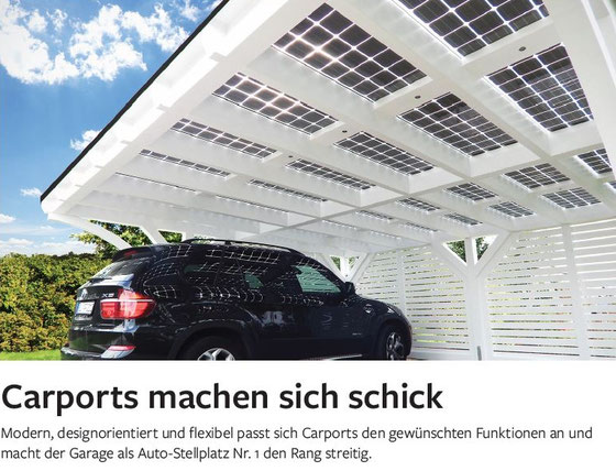 Moderne Design Carports