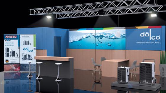 Gestaltung Messestände, Werbedisplays, Rollups, Fahnen, www.andreas-frei-design.de