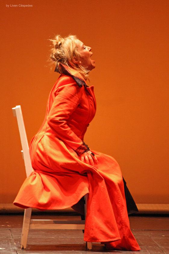 Mephisto Teatro - Yolanda Ruiz en Electra Garrigo - Dir Liuba Cid
