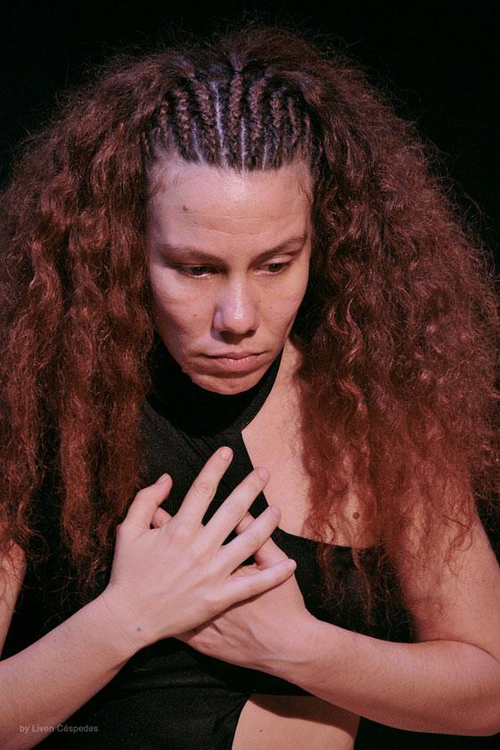 Mephisto Teatro - Dayana Contreras en Electra Garrigo (Ensayos) Dir. Liuba Cid