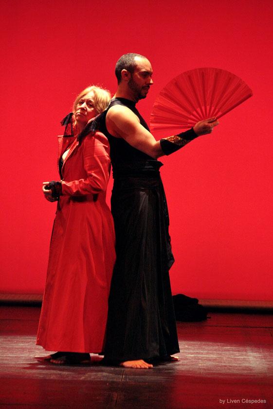 Mephisto Tetaro - Yolanda Ruiz y Rey Montesinos en Electra Garrigo - Dir Liuba Cid