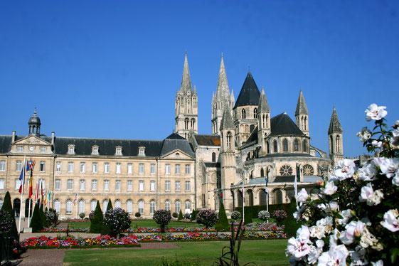 Caen proche de l'abbaye aux hommes et de l'abbatiale Saint etienne