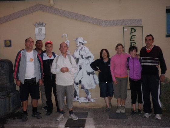 En el albergue de Nájera donde Cicero nos acompañó