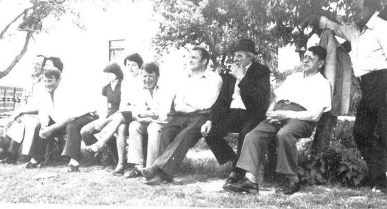Treue Fans des SC Falkenberg (ca. 1978 / 1979)