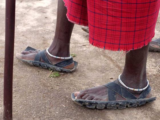 Das Massai Autoreifen Modell