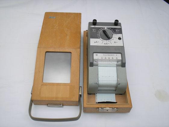 Punktschreiber mit Batterieantrieb Fa. Goerz Wien - Fertigungsjahr 1966
