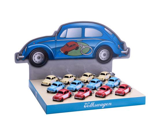 VW Käfer Schlüsselanhänger mit LED Licht