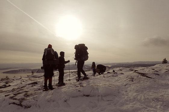 Schneeschuhwanderung in Schweden #BeActive #ItsGreatOutThere