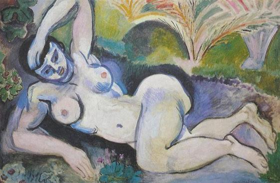 Nu bleu - souvenir de Biskra - H. Matisse