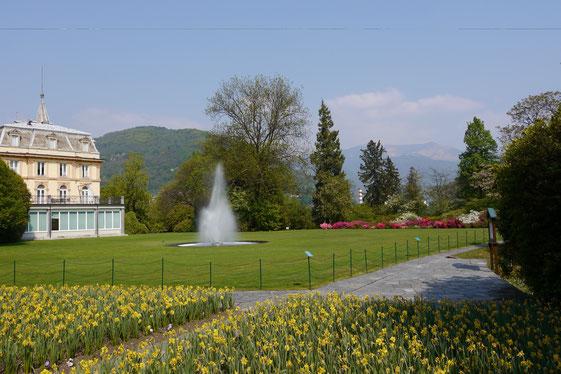 Gartenreise Italien:Villa Taranto bei Verbania am Lago Maggiore