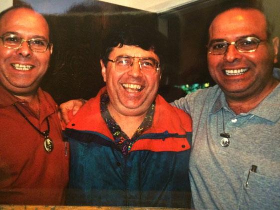 David with Rustom & Sohrab Irani