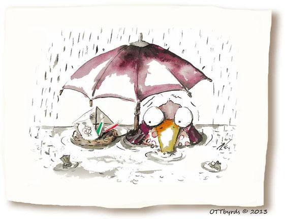 Dauerregen, sommerbeginn,metereologischer Sommerbeginn,regen, ottbyrds,ilka walter