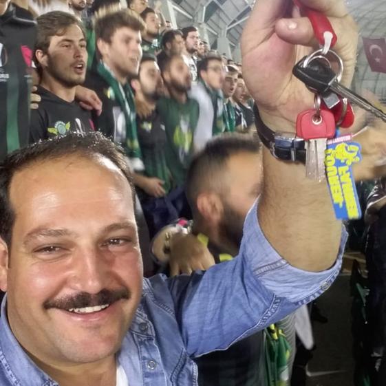 Kadır Aslan aus Akşehir ist Fußball- und CRF-Fan und seit neuestem auch TOURENFAHRER-Fan