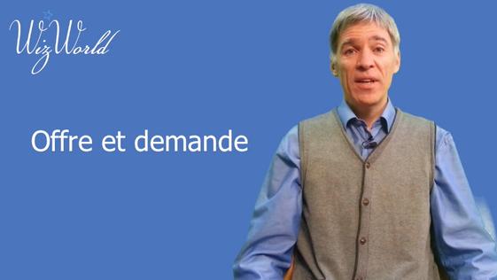 L'offre et la demande, c'est fini. Nous sommes dans l'ère de la demande