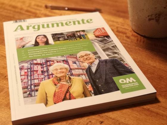 """Wirtschaftsmagazin """"Argumente"""""""