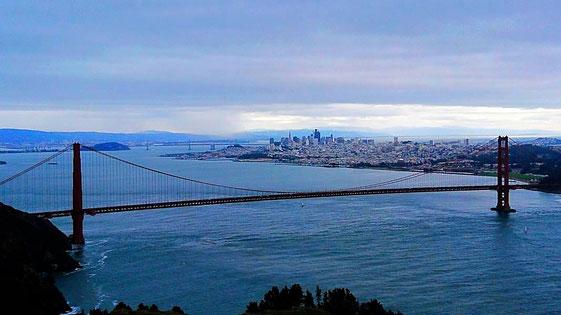 Golden Gate & San Francisco