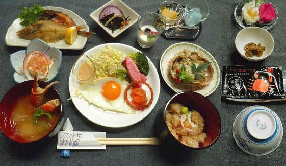 2020 松葉ガニ料理膳(朝食)