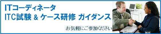 ITコーディネータ ITC試験 & ケース研修 ガイダンス