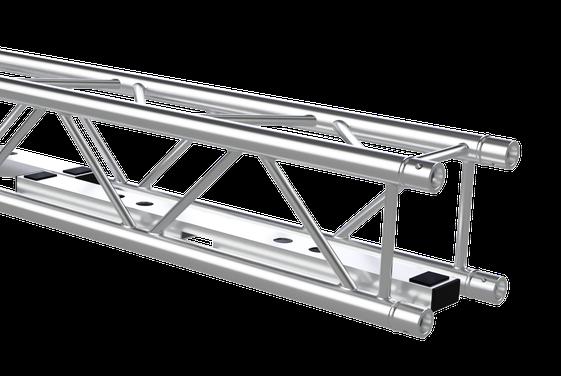 Litecraft Truss Traverse mit MXA-1000 Bodenplatte von Vertitruss im inneren