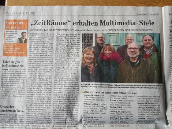 ZeitRäume Bodenstedt - bv-zeitraeumes Jimdo-Page!