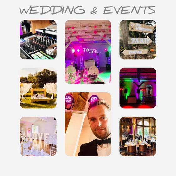 DJ Hochzeit Herford, Bünde, Löhne