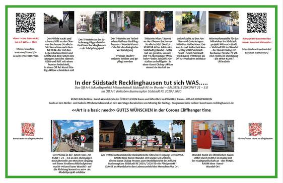 Südstadt Recklinghausen - Reiner Kaufmann - Off Art - Lokale Agenda 21