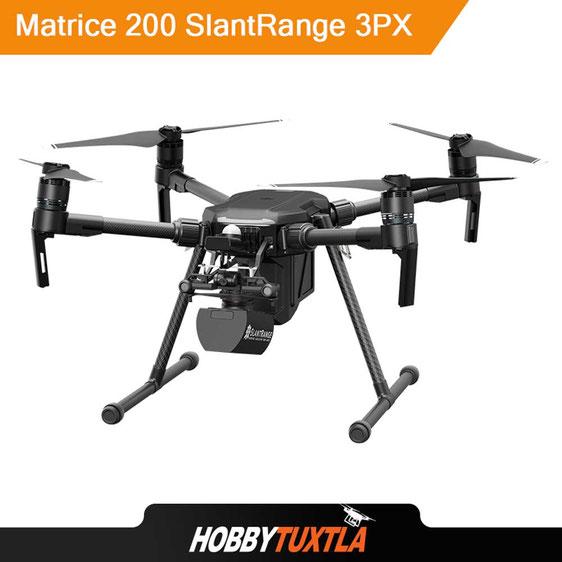 SlantRange 3PX es una cámara multiespectral diseñada para drones profesionales DJI Matrice 200