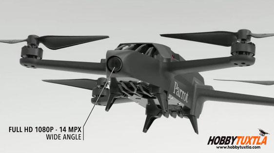 Parrot Bluegrass Fields es un dron para agricultura que además incorpora una cámara visual
