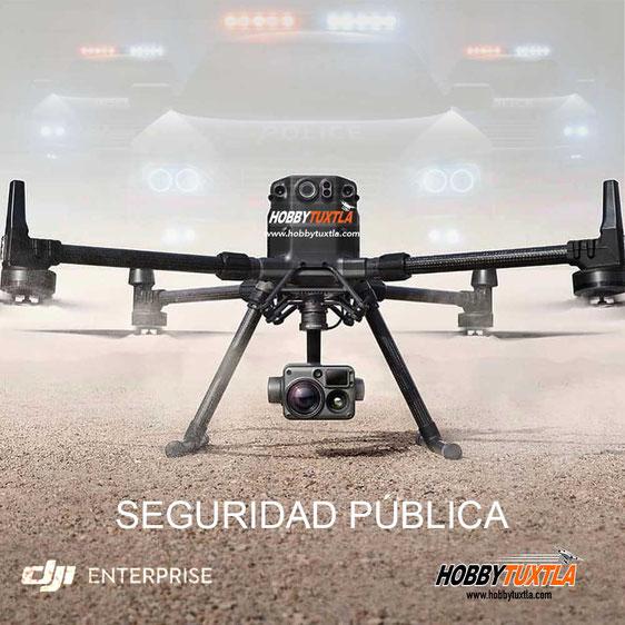 Drones para Seguridad que potencializan la efectividad de los equipos de seguridad   Drones DJI México