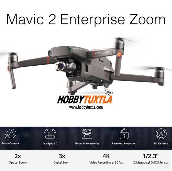 Mavic 2 Enterprise Zoom le ayudará a seguridad y vigilancia durante el día gracias a su cámara visual con zoom de 3 pasos