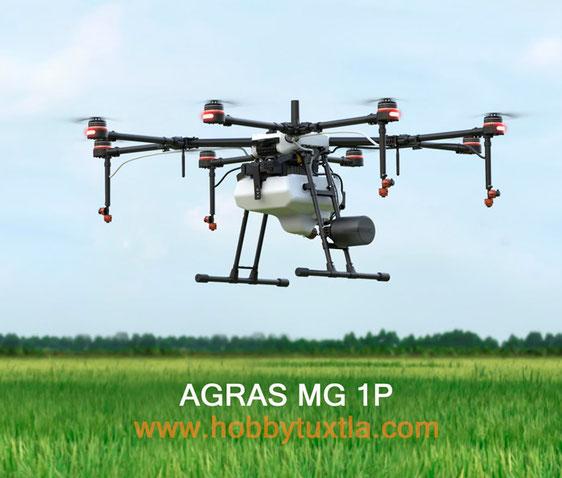 Agras | Drones para fumigar fortalecen en México la productividad de los campos