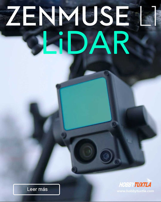 Zenmuse L1 DJI sensor LiDAR