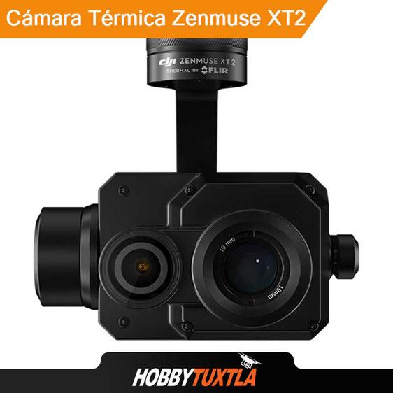 Las cámaras térmicas XT2 adaptables en drones DJI maximizan los resultados en labores industriales