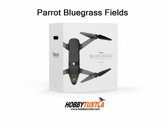 In the box Parrot Bluegrass Fields incluye aeronave, cámara multiespectral Sequoia, 3 baterías ..
