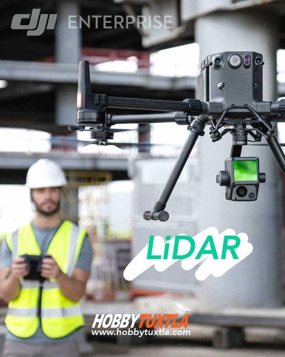 Sensor LiDar para drones