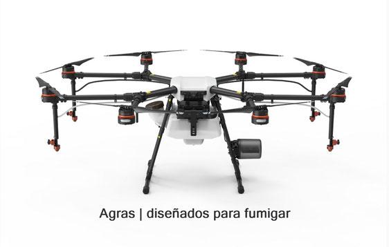 Drones para Fumigar | Agras MG 1P cubre hasta 6 hectáreas por hora de trabajo