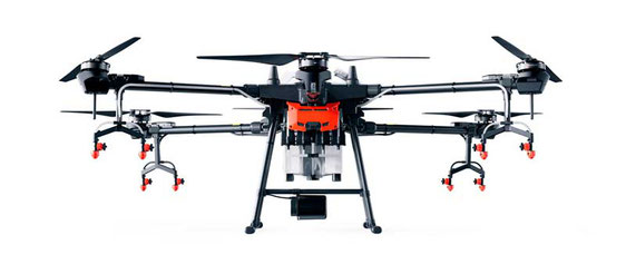 DJI AGRAS T16 dron de 16 Litros capaz de fumigar hasta 10 hectáreas por hora, el mejor dron fumigador del mundo