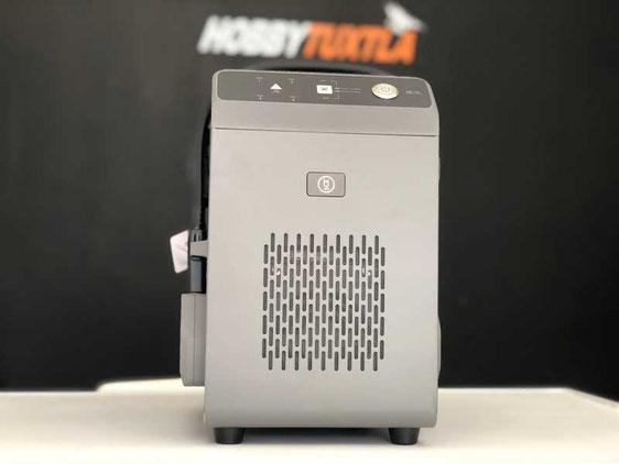 Agras T16 cargador que permite la carga de una batería en solo 20 minutos