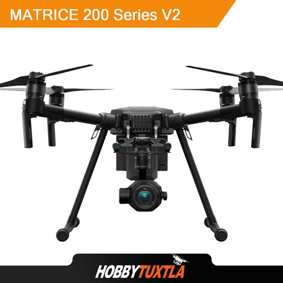 Los mejores drones profesionales apuntan al Matrice 200 V2