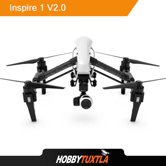 El dron Inspire 1 recomendado para video y fotografía también es compatible con cámaras térmicas y multiespectrales
