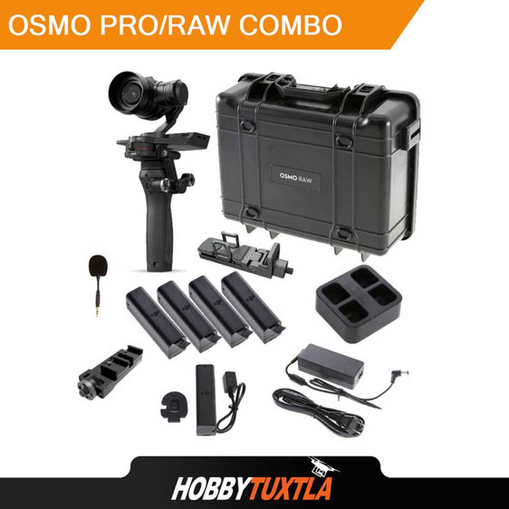 DJI Osmo Pro/Raw combo con cámara Zenmuse X5