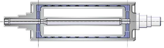DERICHS polishing roller standard