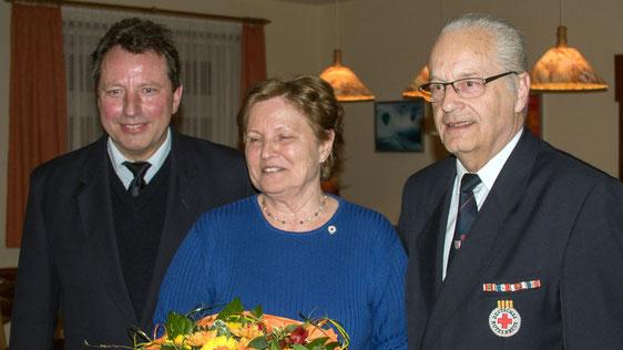 Für 25 Jahre Mitgliedschaft wurde Vera Köhler geehrt.
