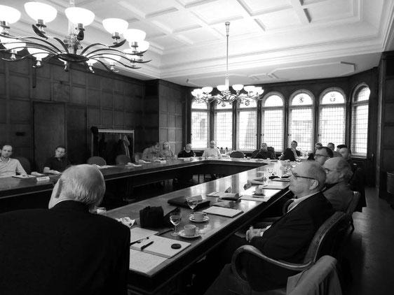 Gründungstreffen des business innovation club in der Notenbank Weimar, Foto N. Hildesheim