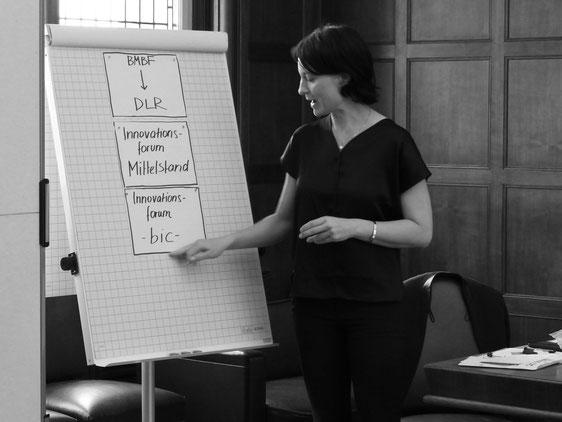 Workshop beim Gründungstreffen, Foto N.Hildesheim